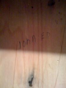 John Ed's nail