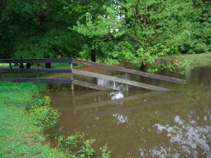 overflow pond